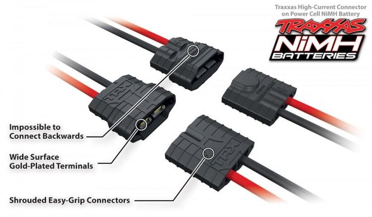 Traxxas 220v til 12v omformer for dc ladere Biler og