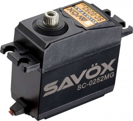 Savöx SC-0252MG Digital std.size/Metal Gear