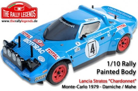 The Rally Legends Body -  EZRL2334 Lancia Stratos 1979 Lakkert