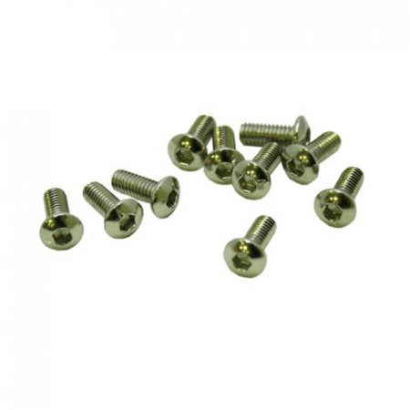 M4x6mm BUTTON HEAD SCREWS (10pcs.)