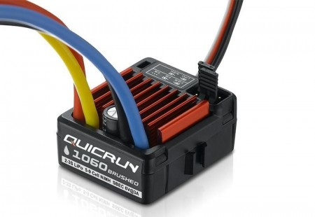 Hobbywing QuicRun 1060 60A Brushed ESC 2-3s