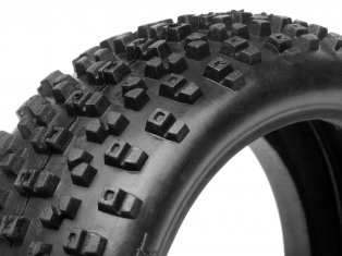 HPI 67744 HV Proto Tire 1:8 Buggy RED