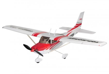Top RC Cessna 182 RØD- KIT