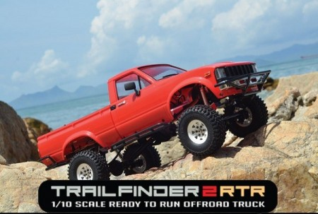 TRAIL FINDER 2 RTR W/MOJAVE II BODY SET