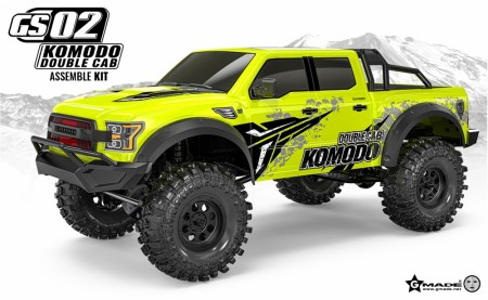 Gmade 1/10 GS02 KOMODO Double cab TS KIT
