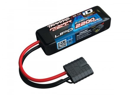 Li-Po Battery 2S 7,4v 2200mAh 25C iD-connector