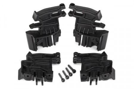 Battery hold-down mounts set