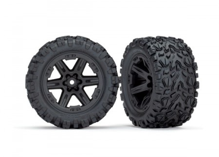 Tires and Wheels Talon Extreme/RXT Black 2.8