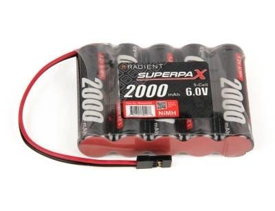 Drivbatterier NiMh 6,0V