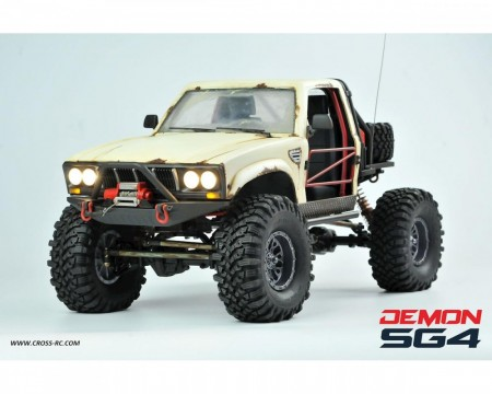 Cross RC SG-4 Demon 1/10 4x4 Skala Crawler KIT