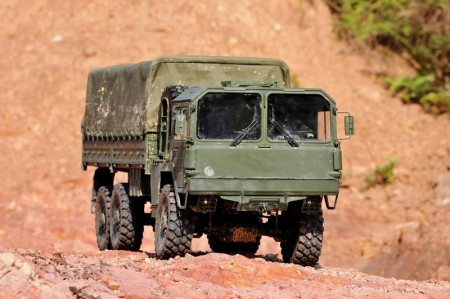 Cross RC MC-6 1/12 6x6 Skala Off Road Millitær lastebil KIT