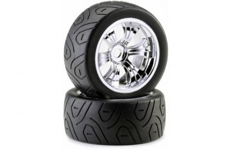 1:8 Truggy Tyre and Rim