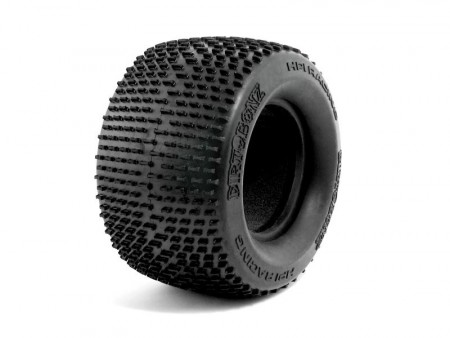 HPI 4853 Dirt Bonz Tire XS Compound 2pcs