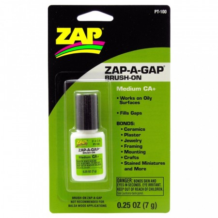PT-100 ZAP-A-GAP CA+ BRUSH ON (7 gram)