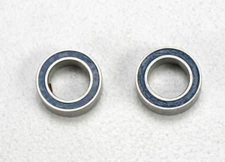 Ball Bearing 5x8x2,5mm Blue Rubber Sealed (2)