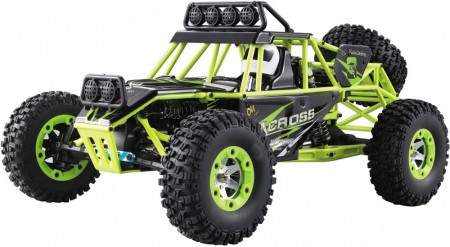 WL-Toys 1:12 4WD RC Rock-Climber (Green)