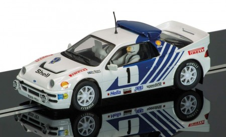 Ford RS200 - Stig Blomqvist, Rally Sweden 1986