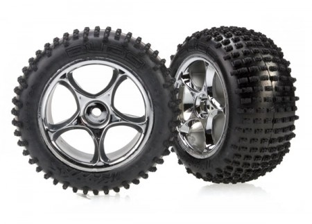 TRX-2470R Tires and wheels, assembled