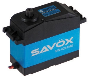 Savox Servo SW-0241MG Large Scale 6V/7.4V 0.17 speed/40kg. Metal