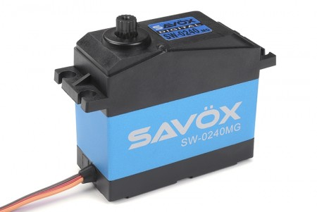 Savöx Servo SW-0240MG Large Scale 6V/7.4V 0.15 speed/35kg. Metal