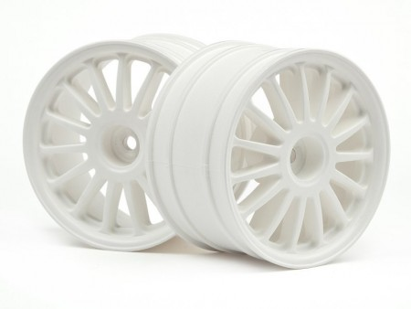 HPI-108075 WR8 Tarmac Wheel White