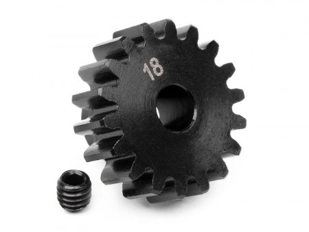 HPI Pinion Gear 18 Tooth (1M/5mm Shaft)