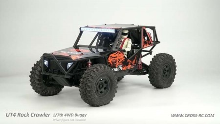 Cross RC UT-4 1/7 Rock Crawler 4WD Buggy KIT