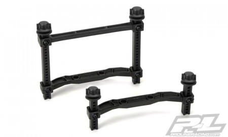 Extended Front and Rear Body Mounts (Slash 4x4) for Slash 4x4