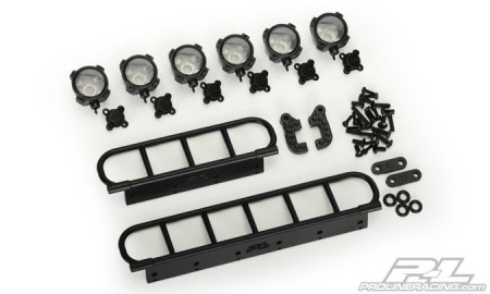 Pro-Line Performance Off-Road Light Bar Kit fits Rock Crawling and Other Bodies