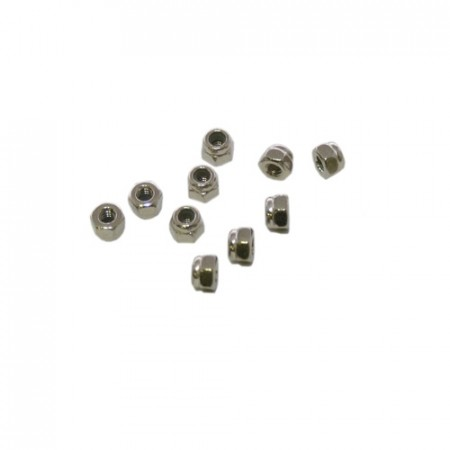 M2,5 NYLON LOCKNUTS (10pcs.)