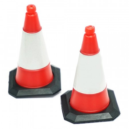 Yeah Racing 1/10 Scale Traffic Cone Accessory 4pcs