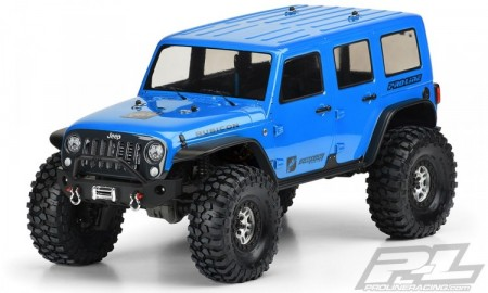 Jeep Wrangler Unlimited Rubicon Clear Body TRX-4